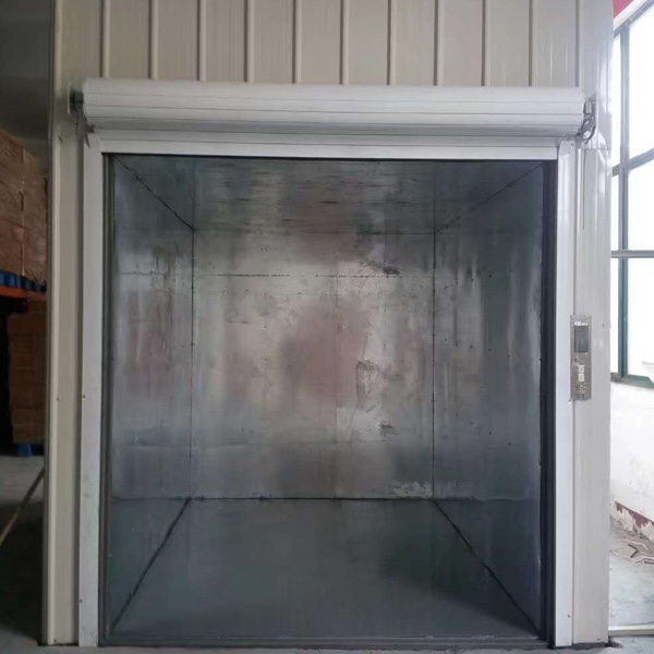 内置钢结构井道的升降平台